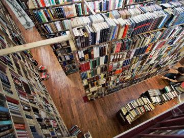 Strand Bookstore, una de las librerías más grandes y antiguas de Nueva York.