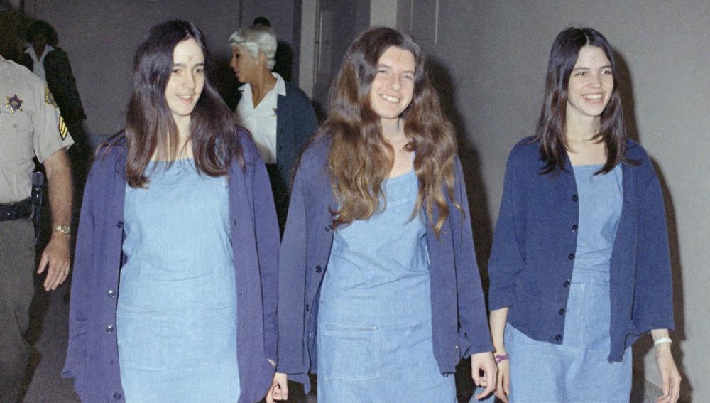 Las chicas de Charles Manson.