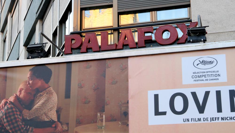 El cine Palafox, en la madrileña calle de Luchana.