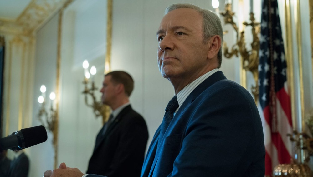 Regresa Frank Underwood