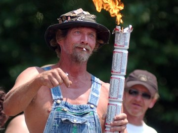 Red Neck o hillbilly, habitantes de Los Apalaches