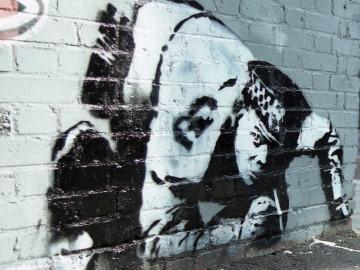 Hallan una obra perdida de Banksy desde hace diez años