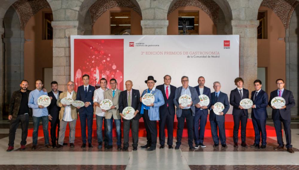 II Edición de los Premios de Gastronomía de la Comunidad de Madrid