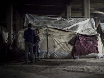 Campo de refugiados Katsika