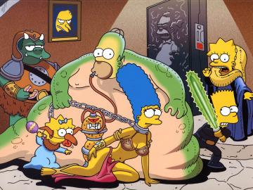 'Los Simpson' como 'Star Wars'