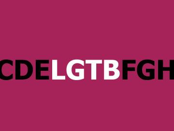 Las siglas LGTB surgieron en los 90 en EEUU.