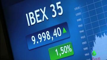 Imagen de los puntos del Ibex 35 a 9 de marzo de 2017