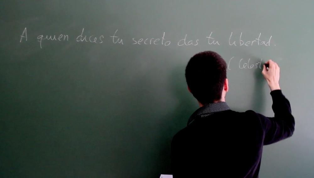 Un profesor de Lengua y Literatura enseña La Celestina