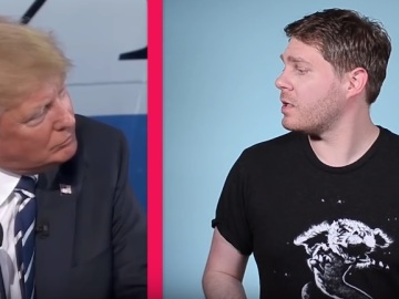 "Jonathan Mcintosh en una captura de su video ""What is Toxic Masculinity?"" (¿Qué es la masculinidad tóxica?)"