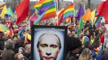 Manifestación anti Putin