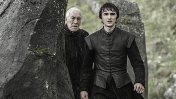 Bran Stark y el Cuervo de Tres Ojos, en Juego de Tronos