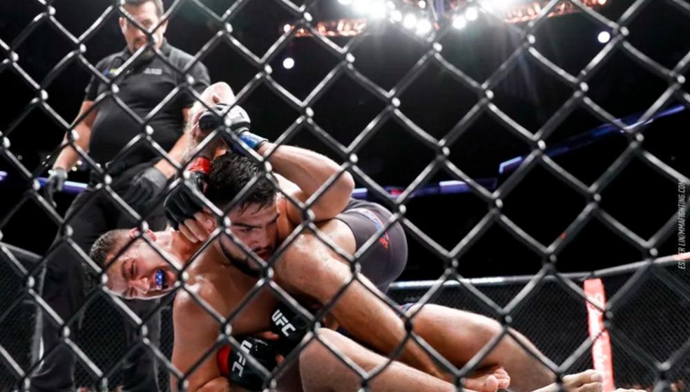 Las peleas ultraviolentas MMA llegan a España