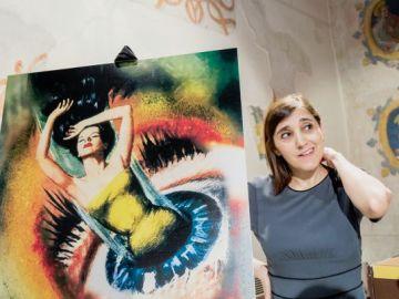 María Cañas el día de la presentación del cartel del Festival de Cine de Sevilla