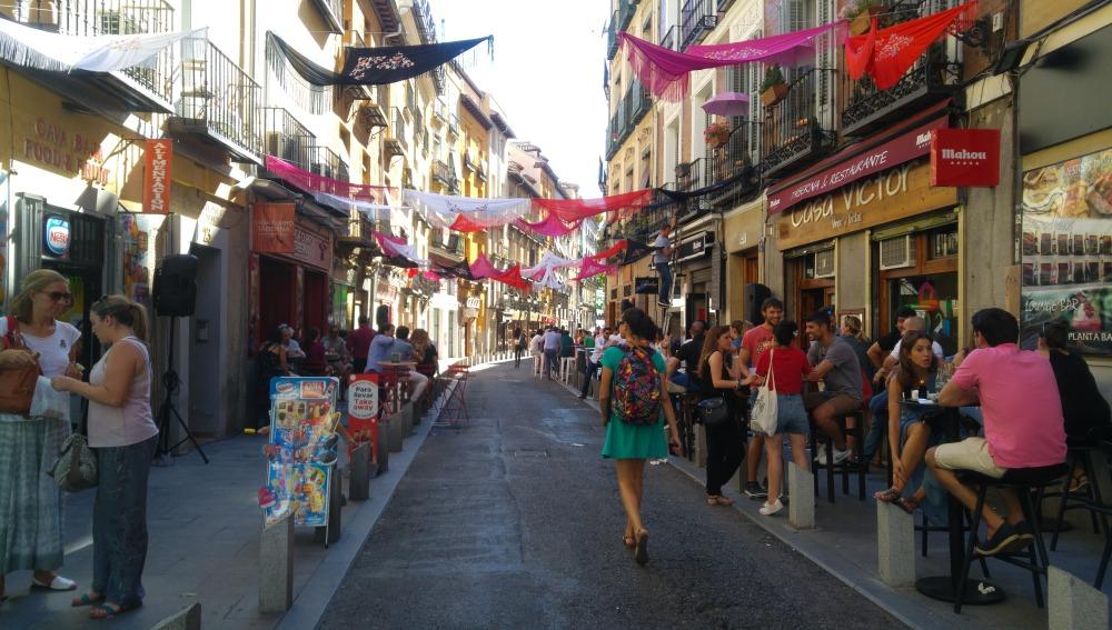 Vivo en una de las calles más turistificadas de Madrid
