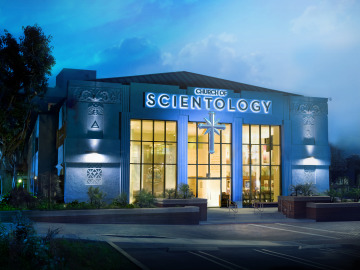 Iglesia de la Cienciología en Los Ángeles